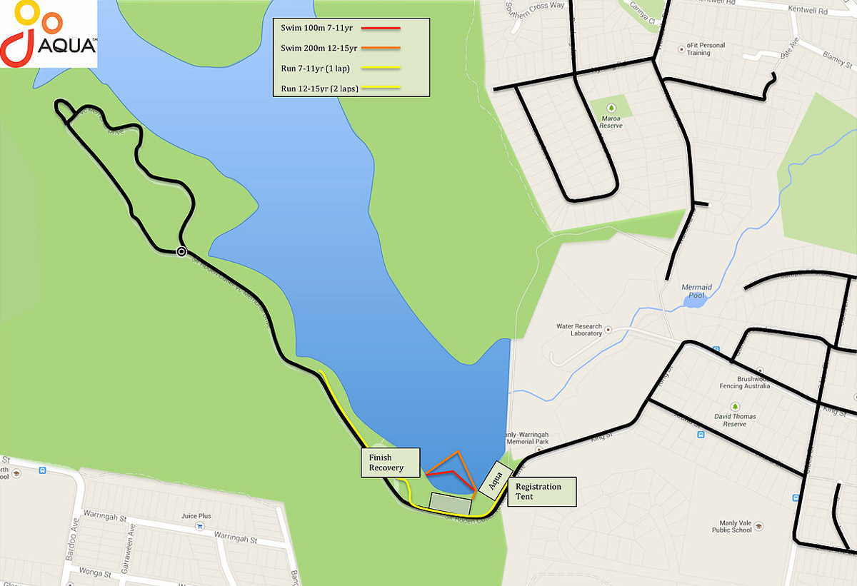go-duathlon-course-map
